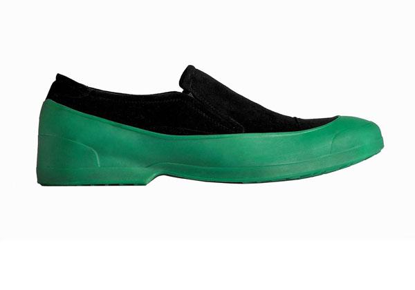 Мужские галоши открытого типа новая практичная тенденция в мире моды резиновой обуви
