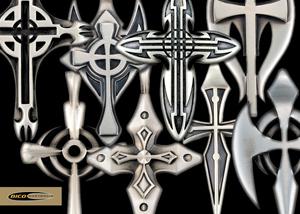 Мужские украшения bico женские украшения bicoподарок парню, мужчине, девушке, женщине новый год под крест 23 февраля на каждый день 8 марта на каждый день