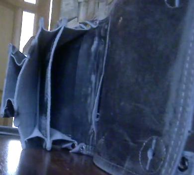 Кожаная сумка ручная работа