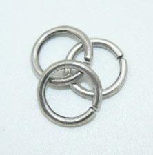 ЧКольца к чокерам, цепочкам, кулонам, подвескам серебро 925 пробы