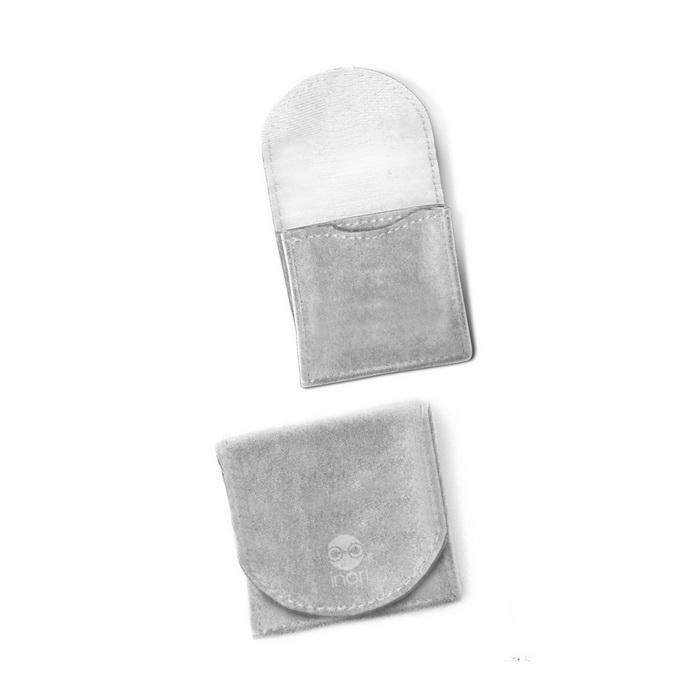 Красивый вельветовый кошелек на кнопке  для мужских украшений Inori  из стали