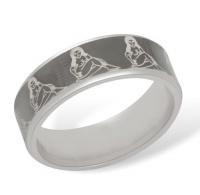 Кольцо из серебра  R610009