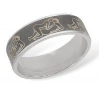 Кольцо из серебра  R610008