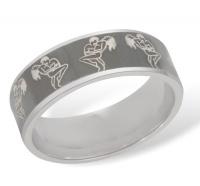 Кольцо из серебра  R610007