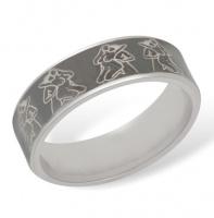 Кольцо из серебра  R610006