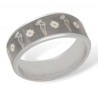 Кольцо из серебра  R610005