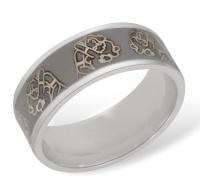 Кольцо из серебра R610004