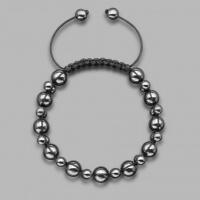 Мужской браслет шамбала из  гематита  Rico La Cara  5203