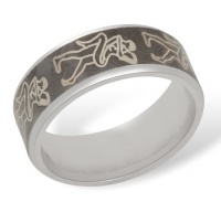 Кольцо из серебра  R610003