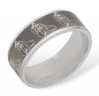 Кольцо из серебра R610002