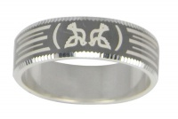 Кольцо из серебра  560011