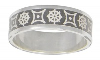 Кольцо из серебра  560019