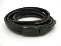 Кожаный браслет KB-141
