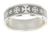 Кольцо из серебра  560033