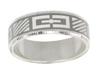 Кольцо из серебра  560035