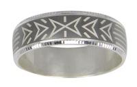 Кольцо из серебра  560036