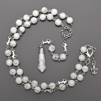 Бусы, ожерелье, розарий из кахалонга и подвески-маятника  Rico la Сara 2184