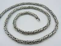 Цепочка из серебра Византия вид 3
