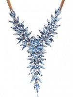 Ожерель Голубой цветок