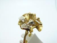 Кольцо серебро Мышки