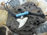 Амулет с зубом Синей акулы г