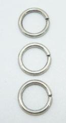 Кольца к чокерам, цепочкам, кулонам, подвескам серебро 925