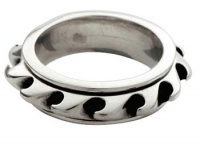 Кольцо Ring Wave Spinner-вращающаяся волна Bico
