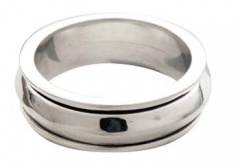 Оловянное кольцо на 10-летие свадьбы