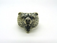"Кольцо серебро ""Медведь"""
