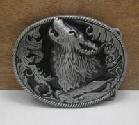 Пряжка Волк