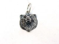 "Кулон  ""Медведь-BEAR"" серебро"