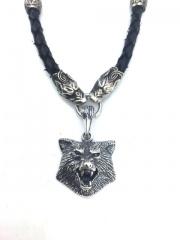 """Кулон  """"Волк-WOLF"""" серебро"""