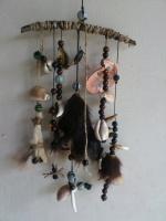 Оберег для дома с когтями, клыками животных
