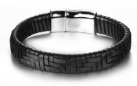 Кожаный браслет шириной 12 мм KB-126