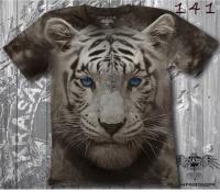 Футболка Тигр с голубыми глазами