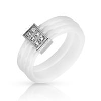 Женское кольцо из керамики SJW RC040