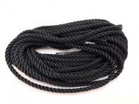Круглый витой шелковый шнур (полиэстер)  диаметром 3 мм