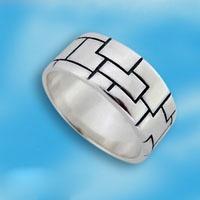 Кольцо из серебра 166789