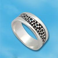 Кольцо  из серебра 1665405