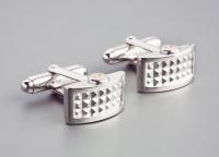 Мужские запонки серебро OROCREATO  UGM 128
