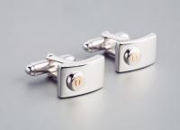 Мужские запонки серебро OROCREATO  UGM 129