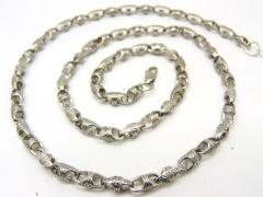 Цепочка из серебра декоративная