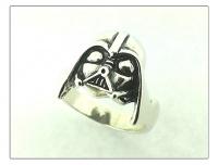 "Кольцо серебро "" Darth Vader"""