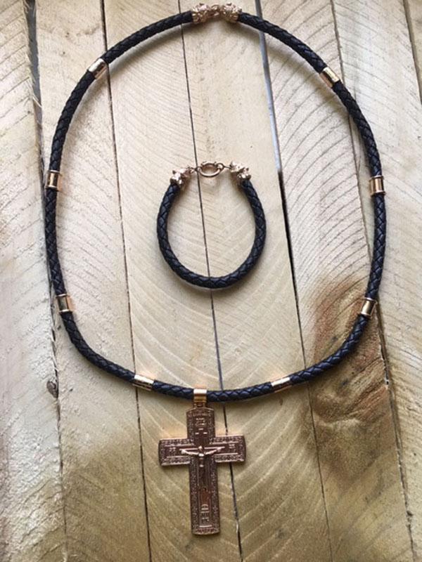 Реставрация, ремонт шнуров на шею под крест, подвеску, кулон, амулет, оберег, изменение дизайна, золочение